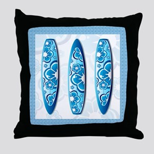 Sufrboards Throw Pillow